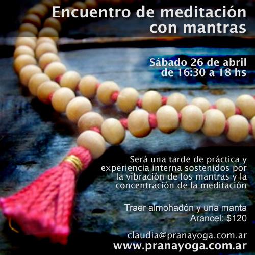 Taller de meditación y mantras
