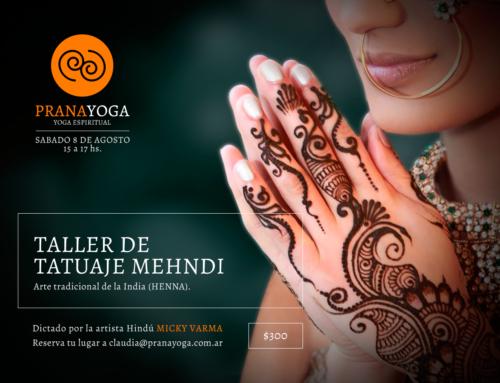 Taller de Tatuaje Menhdi (Henna)