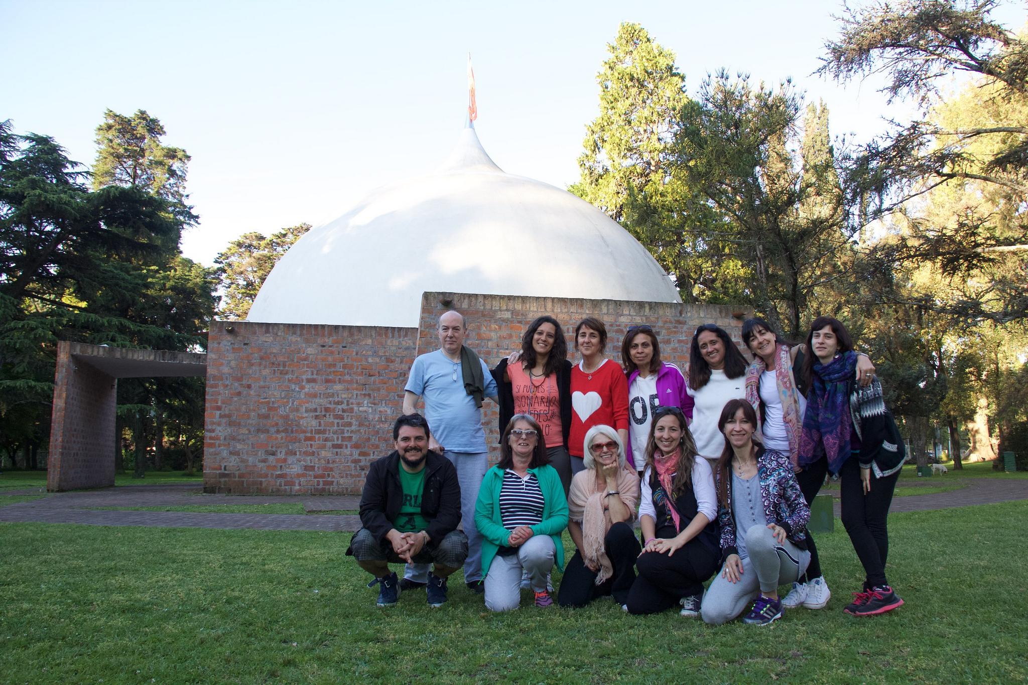 Jornada de Yoga en Parque La Reja 2016