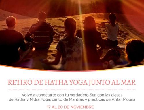 Retiro de Hata Yoga junto al mar  – noviembre 2017